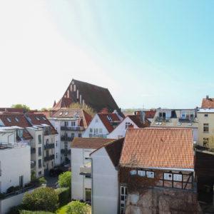 Ausblick vom Dach - ähnlich der Dachterrasse