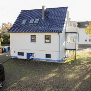 Haus Marlene mit Parkplätzen