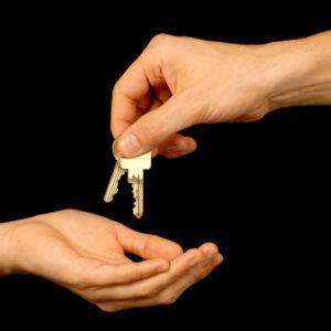 ...begleitet bis zur Schlüsselübergabe...